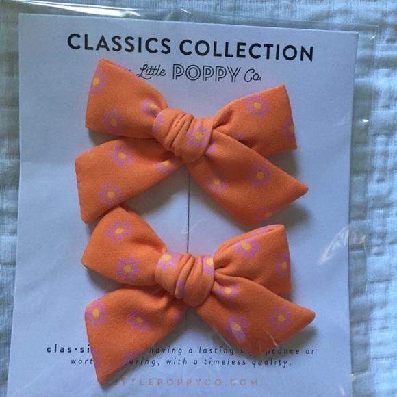 Little Poppy Co bows June 2019 classics pigtails